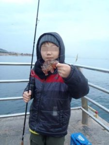 淡路島親子釣り