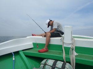 明石でタコ釣り