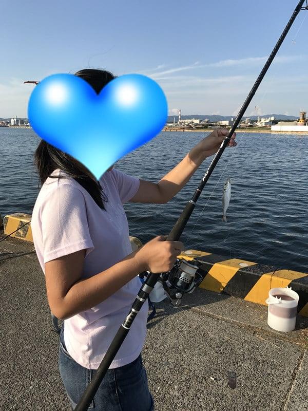 娘とはじめてのサビキ釣り