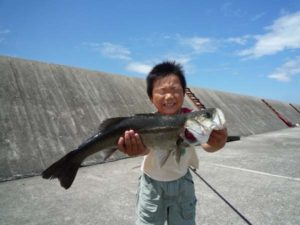 子供と釣り