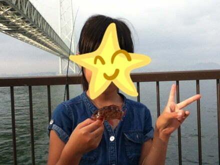 淡路島で親子釣り