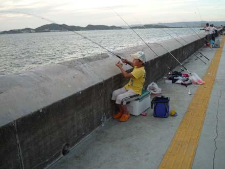 和歌山で親子釣り